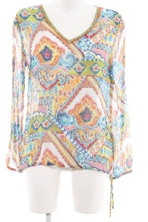 Malvin Schlupf-Bluse abstraktes Muster Casual-Look