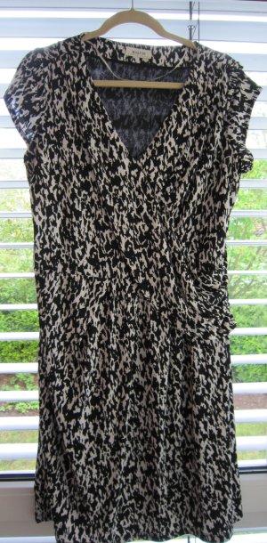 MALVIN Sommerkleid Größe L mit  sw/ws Print