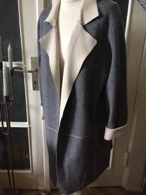Malvin Knitted Coat grey-natural white