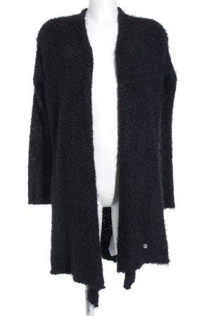 Malvin Strickmantel schwarz Kuschel-Optik