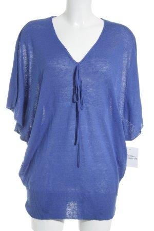 Malvin Strickpullover blau Casual-Look