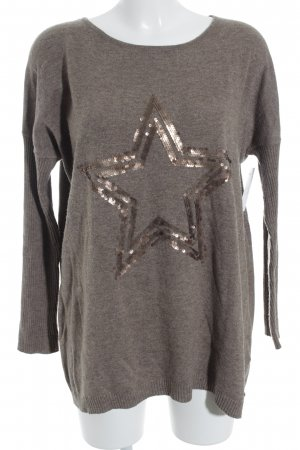 Malvin Strickpullover hellbraun Street-Fashion-Look
