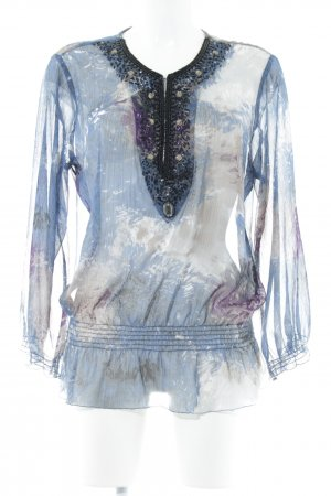 Malvin Transparenz-Bluse florales Muster Casual-Look