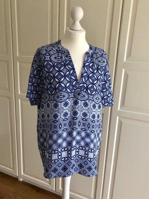 Malvin Tunika Bluse blau 40
