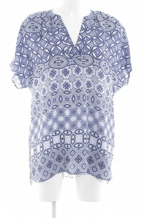Malvin Tunikabluse abstraktes Muster Boho-Look