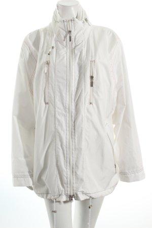 Malvin Übergangsjacke weiß-rot 90ies-Stil