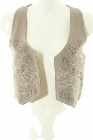 Mama licious Biker Vest natural white business style