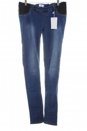 Mama licious Jeggings schwarz-blau Casual-Look
