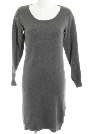 Mama licious Sweater Dress grey casual look