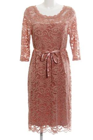 Mama licious Spitzenkleid rosé Elegant