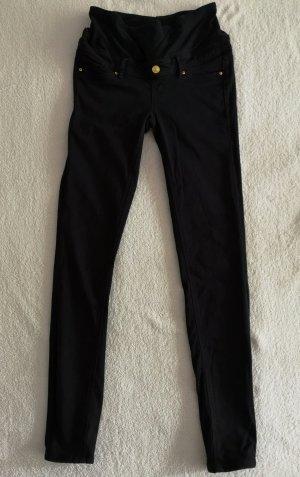H&M Pantalón de pinza alto negro