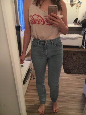 Roxy Pantalone a vita alta blu