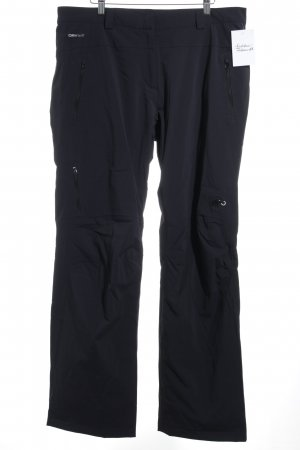 Mammut Pantalón de camuflaje negro estilo deportivo