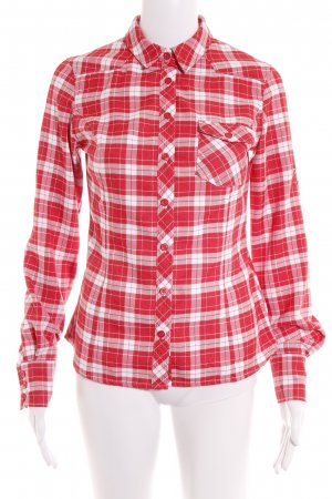 Mammut Lumberjack Shirt white-red check pattern casual look