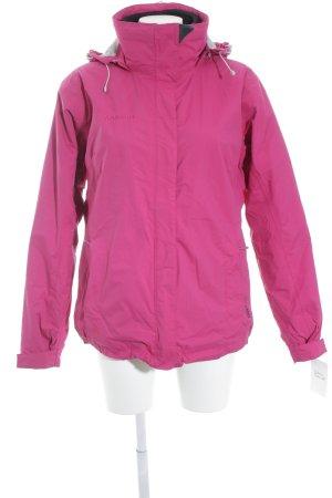Mammut Chaqueta para exteriores rosa-gris claro estilo deportivo