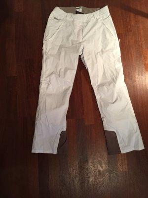 Mammut Pantalón de esquí blanco