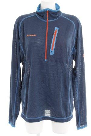 Mammut Sweatshirt blau sportlicher Stil