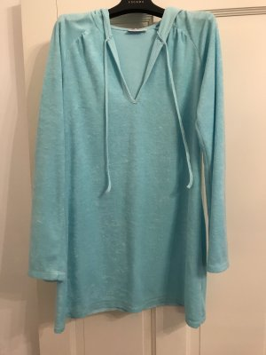 Hooded Shirt light blue