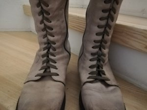 Manas Lace-up Boots grey brown