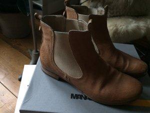 MANAS Chelsea-Boots, Booties, Vintagelook, Gr. 38, neuwertig