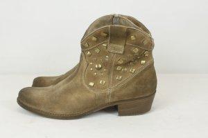 Manas Design Stiefelette Ankle Boots Gr. 39 Leder