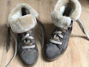 Manas Schuhe Leder Größe 40