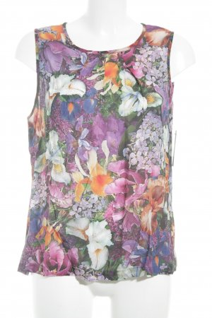 Mandala Kurzarm-Bluse florales Muster Casual-Look