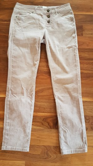 Mandarin Oil washed Jeans