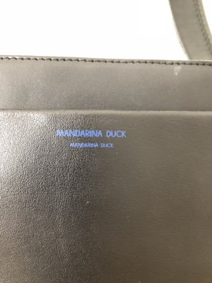 Mandarina Duck Carry Bag black leather