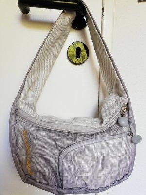 Mandarina Duck Shoulder Bag light grey-grey nylon