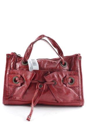 Mandarina Duck Handtasche rot klassischer Stil