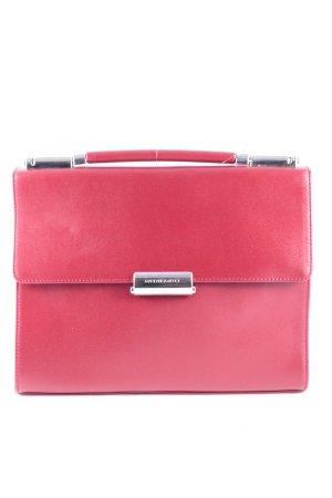 Mandarina Duck Handtasche rot schlichter Stil