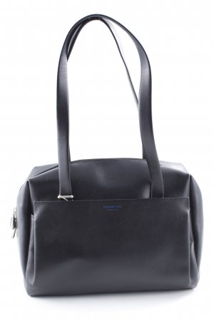 Mandarina Duck Carry Bag black wet-look