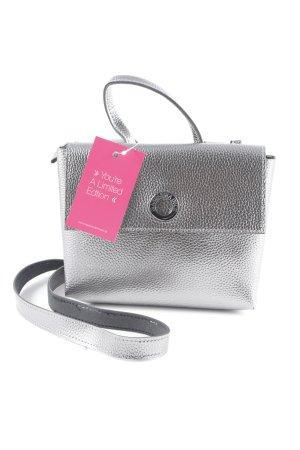 Mandarina Duck Mini Bag silver-colored elegant
