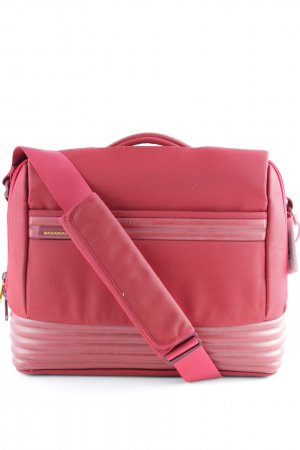 Mandarina Duck Notebooktasche dunkelrot-gelb Business-Look