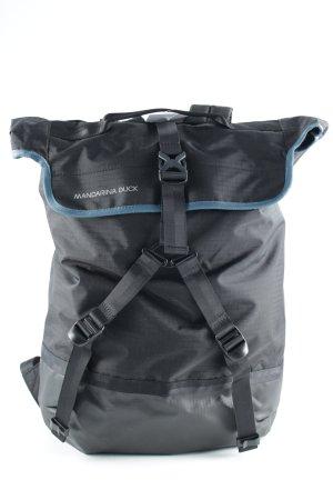 Mandarina Duck Trekking-Rucksack schwarz-kadettblau sportlicher Stil