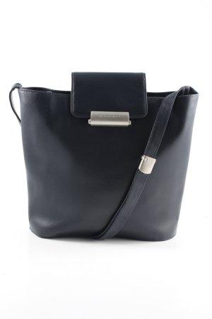 Mandarina Duck Gekruiste tas zwart straat-mode uitstraling
