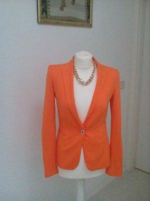Mandarinenfarbener ZARA Blazer