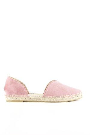 Manebi Espadrille Sandals pink casual look