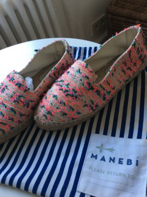 Manebi Mocassins multicolore laine