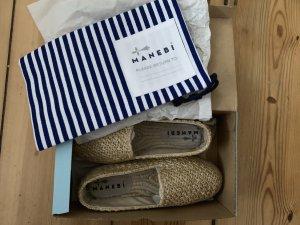 Manebi Espadrille Sandals multicolored rayon