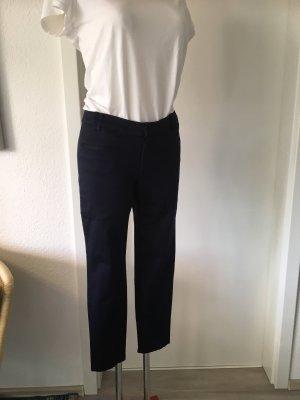 Mango Basics Pantalon 7/8 bleu foncé