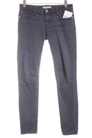 Mango 7/8 Jeans dunkelblau Casual-Look