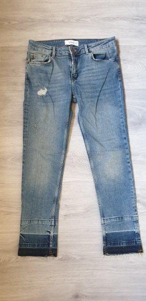 mango 7/8 Jeans Hose Gr  36