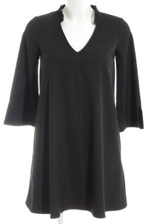 Mango A-Linien Kleid schwarz Business-Look