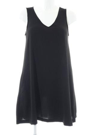 Mango Robe trapèze noir style décontracté