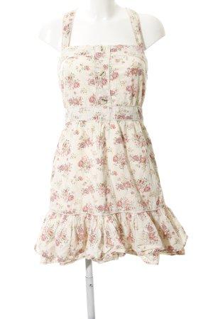 Mango A-Linien Kleid Blumenmuster Romantik-Look