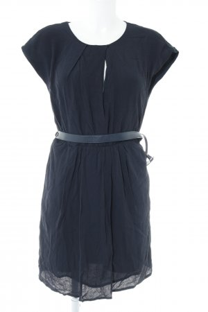 Mango A-Linien Kleid dunkelblau Business-Look