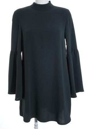 Mango A-Linien Kleid dunkelgrün Elegant
