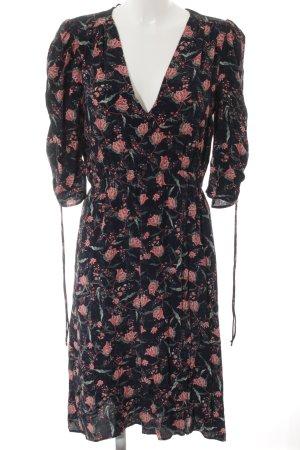 Mango A-Linien Kleid florales Muster Casual-Look